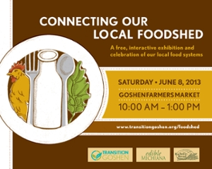 Local Foodshed event flyer